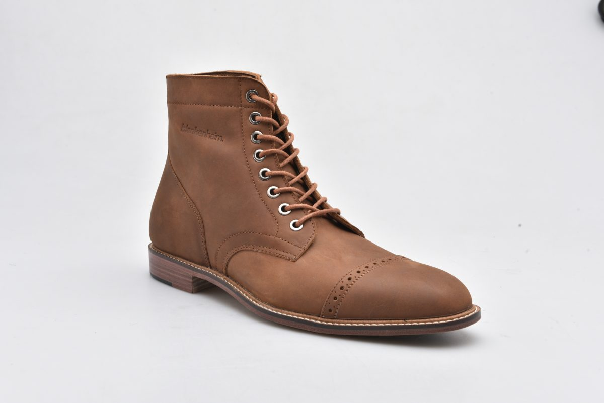 Leather Boots Light Brown