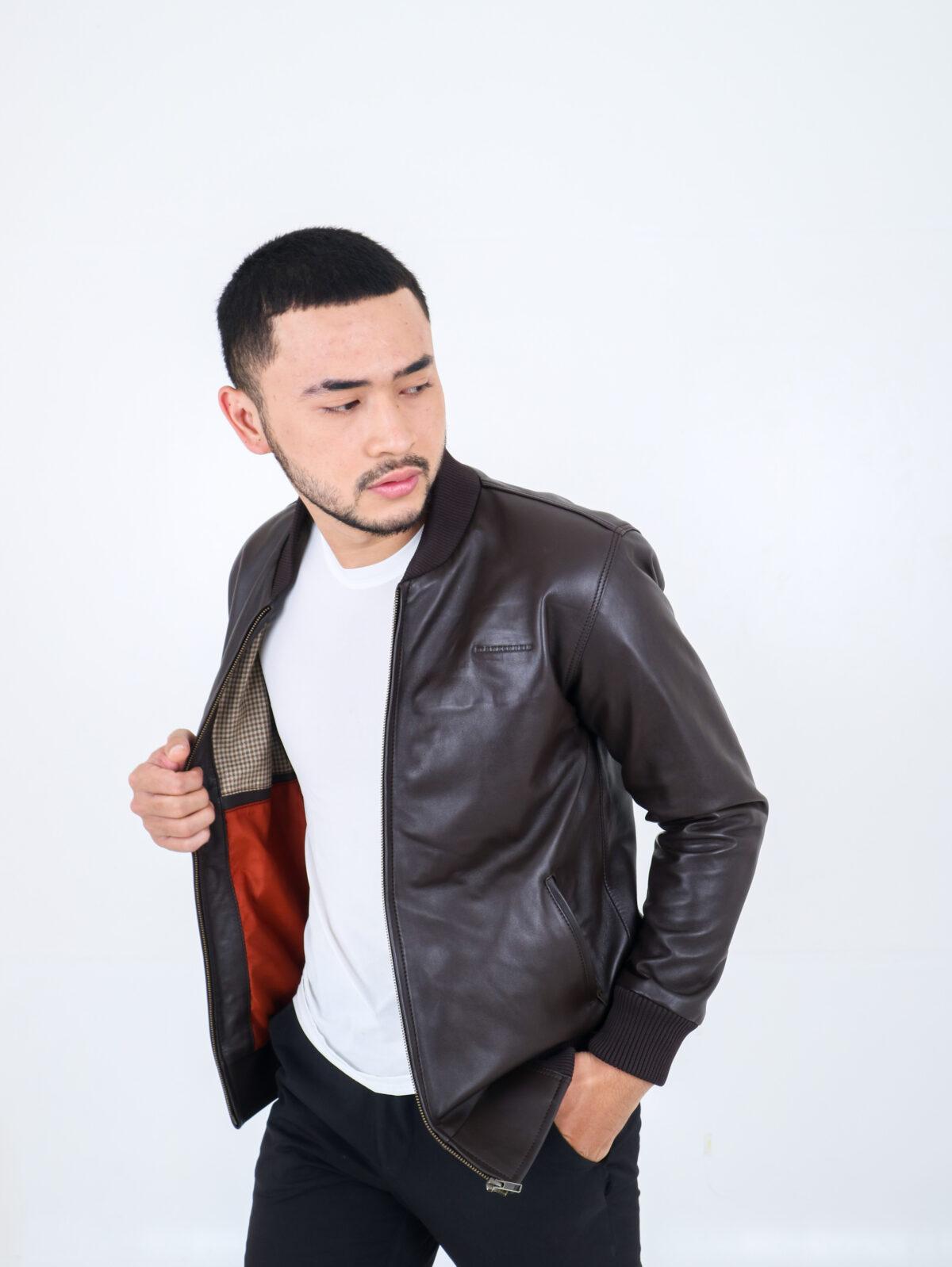 Blankenheim Leather Jacket Altair – Brown (Size S M L XL)