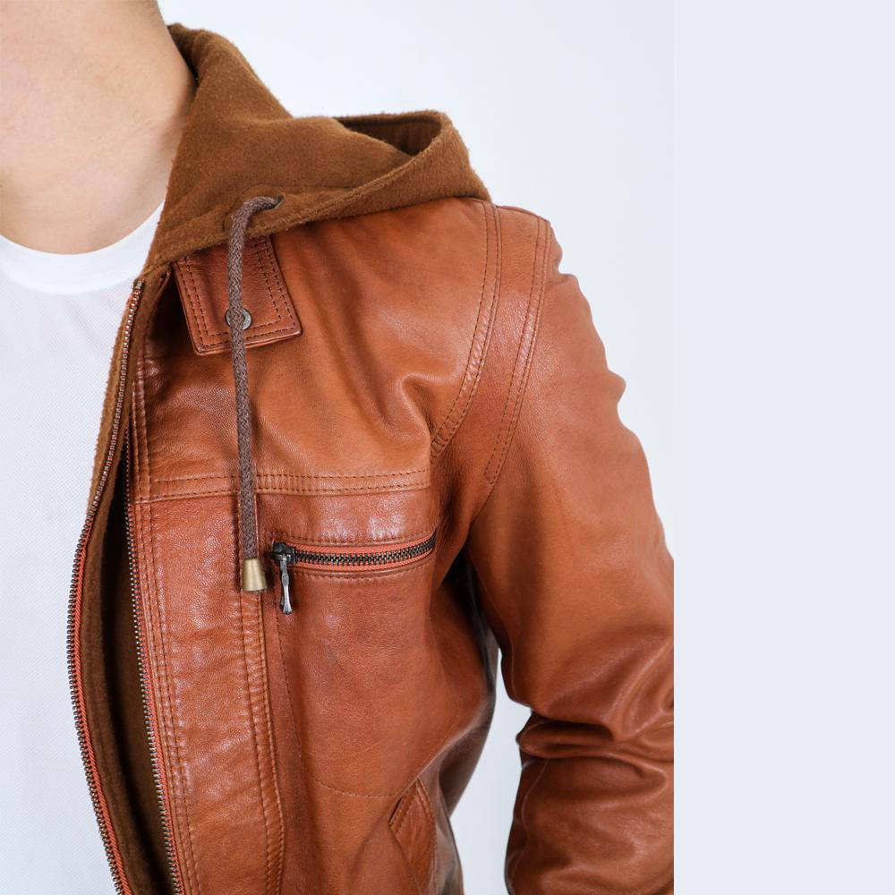 Blankenheim Leather Jacket Eckhard – TAN (Size S M L XL)