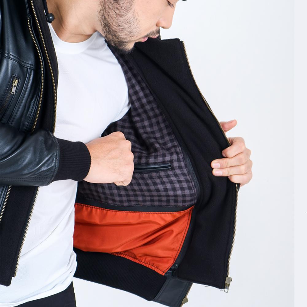 Blankenheim Leather Jacket Eckhard – Black (Size S M L XL) (Copy)